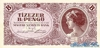 10000 Пенге выпуска 1946 года, Венгрия. Подробнее...