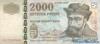 2000 Форинтов выпуска 1998 года, Венгрия. Подробнее...