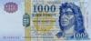 1000 Форинтов выпуска 2003 года, Венгрия. Подробнее...