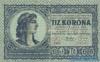 10 Крон выпуска 1919 года, Венгрия. Подробнее...