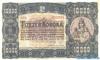 10000 Крон выпуска 1923 года, Венгрия. Подробнее...
