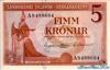 5 Крон выпуска 1957 года, Исландия. Подробнее...