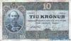 10 Крон выпуска 1900 года, Исландия. Подробнее...