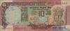 10 Рупий выпуска xxxx года, Индия. Подробнее...