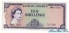 10 Шиллингов выпуска 1960 года, Ямайка. Подробнее...