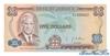 5 Долларов выпуска 1960 года, Ямайка. Подробнее...