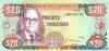 20 Долларов выпуска 1985 года, Ямайка. Подробнее...
