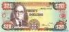 20 Долларов выпуска 1999 года, Ямайка. Подробнее...