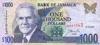 1000 Долларов выпуска 1999 года, Ямайка. Подробнее...