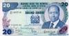 20 Шиллингов выпуска 1982 года, Кения. Подробнее...