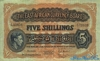 5 Шиллингов выпуска 1952 года, Кения. Подробнее...