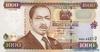 1000 Шиллингов выпуска 2001 года, Кения. Подробнее...