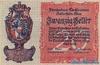20 Геллеров выпуска 1920 года, Лихтенштейн. Подробнее...