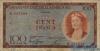 100 Франков выпуска 1956 года, Люксембург. Подробнее...
