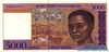 5.000 Франков выпуска 1995 года, Мадагаскар. Подробнее...