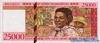 25.000 Франков выпуска 1998 года, Мадагаскар. Подробнее...