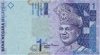 1 Ринггит выпуска 2000 года, Малайзия. Подробнее...