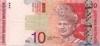 10 Ринггитов выпуска 2004 года, Малайзия. Подробнее...