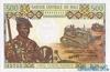 500 Франков выпуска 1984 года, Мали. Подробнее...
