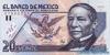 20 Новых Песо выпуска 1992 года, Мексика. Подробнее...