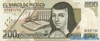 200 Новых Песо выпуска 1992 года, Мексика. Подробнее...