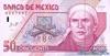 50 Песо выпуска 1994 года, Мексика. Подробнее...
