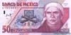 50 Песо выпуска 1999 года, Мексика. Подробнее...