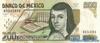 200 Песо выпуска 1999 года, Мексика. Подробнее...