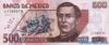 500 Песо выпуска 1996 года, Мексика. Подробнее...