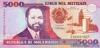 5.000 Метикалов выпуска 1991 года, Мозамбик. Подробнее...