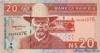 20 Долларов выпуска 1996 года, Намибия. Подробнее...