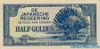 1/2 Гульдена выпуска 1942 года, Нидерланды (Индия). Подробнее...