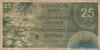 25 Гульденов выпуска 1946 года, Нидерланды (Индия). Подробнее...