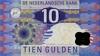 10 Гульденов выпуска 1997 года, Нидерланды. Подробнее...
