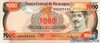 5.000 Кордоба выпуска 1987 года, Никарагуа. Подробнее...