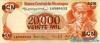 20.000 Кордоба выпуска 1987 года, Никарагуа. Подробнее...