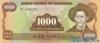 1.000 Кордоба выпуска 1985 года, Никарагуа. Подробнее...