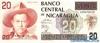 20 Кордоба выпуска 1990 года, Никарагуа. Подробнее...