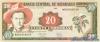 20 Кордоба выпуска 1995 года, Никарагуа. Подробнее...