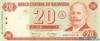 20 Кордоба выпуска 2002 года, Никарагуа. Подробнее...