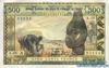 500 Франков выпуска 1970 года, Нигерия (Западно-Африканские Штаты). Подробнее...