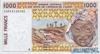 1000 Франков выпуска 2002 года, Нигерия (Западно-Африканские Штаты). Подробнее...