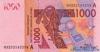 1000 Франков выпуска 2003 года, Нигерия (Западно-Африканские Штаты). Подробнее...