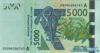 5000 Франков выпуска 2003 года, Нигерия (Западно-Африканские Штаты). Подробнее...