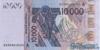10000 Франков выпуска 2003 года, Нигерия (Западно-Африканские Штаты). Подробнее...