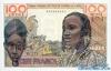 100 Франков выпуска 1959 года, Нигерия (Западно-Африканские Штаты). Подробнее...