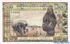 500 Франков выпуска 1978 года, Нигерия (Западно-Африканские Штаты). Подробнее...