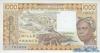 1000 Франков выпуска 1984 года, Нигерия (Западно-Африканские Штаты). Подробнее...