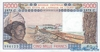 5000 Франков выпуска 1984 года, Нигерия (Западно-Африканские Штаты). Подробнее...