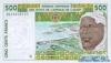 500 Франков выпуска 1996 года, Нигерия (Западно-Африканские Штаты). Подробнее...